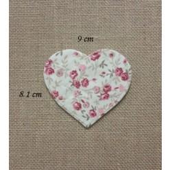 Φλοράλ Θήκη σε Σχήμα Καρδιάς