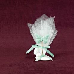 Μπομπονιέρα Βάπτισης Επιτραπέζιο Διακοσμητικό με Πεταλούδα
