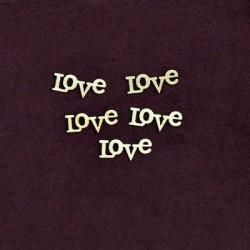 Ξύλινο Διακοσμητικό Love